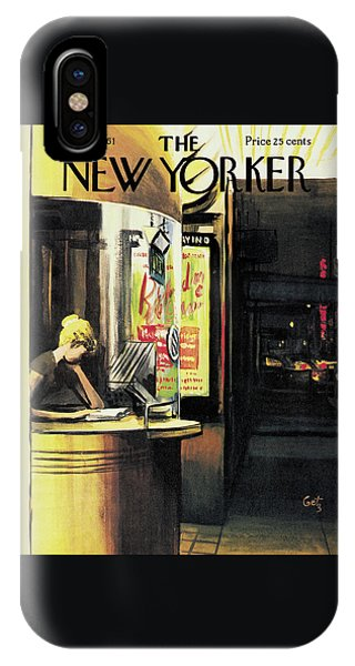 New Yorker May 6th, 1961 IPhone Case