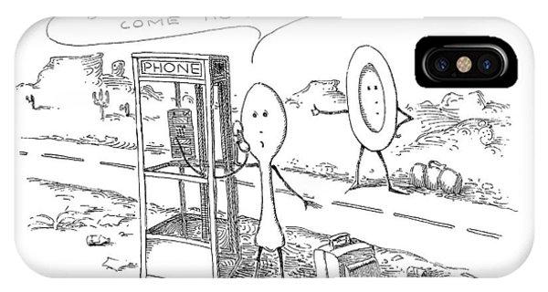 Highway iPhone Case - New Yorker May 6th, 1991 by John O'Brien