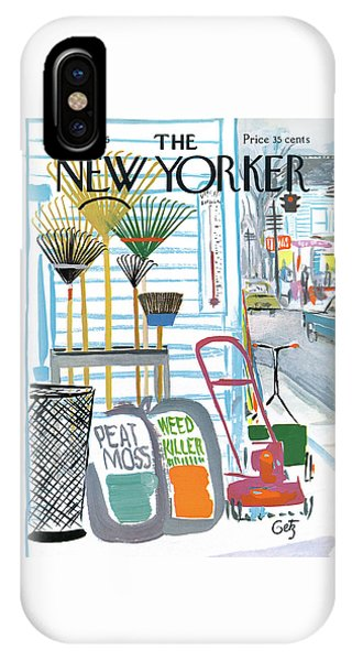 New Yorker May 7th, 1966 IPhone Case