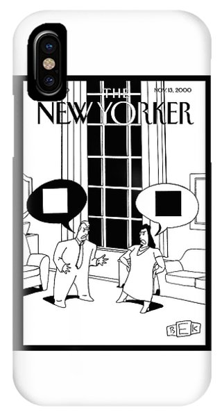 New Yorker November 13th, 2000 IPhone Case