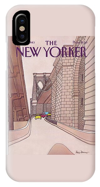 New Yorker November 14th, 1983 IPhone Case