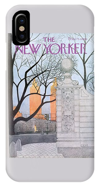 New Yorker November 15th, 1976 IPhone Case