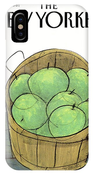 New Yorker November 16th, 1981 IPhone Case
