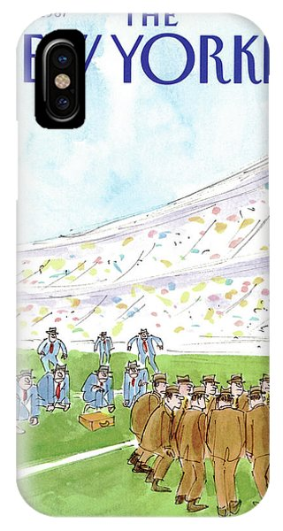 New Yorker November 16th, 1987 IPhone Case