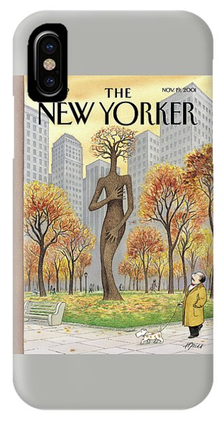 New Yorker November 19th, 2001 IPhone Case