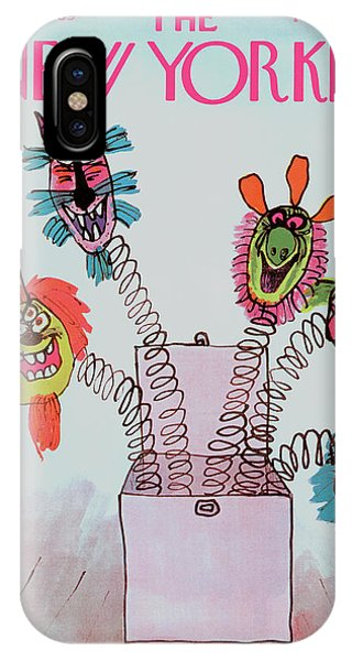 New Yorker November 1st, 1969 IPhone Case