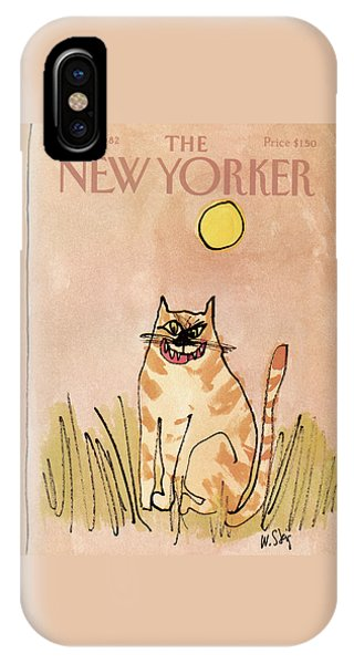 New Yorker November 1st, 1982 IPhone Case