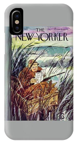 New Yorker November 20 1937 IPhone Case