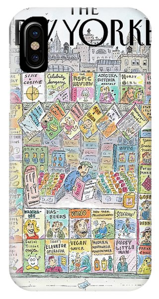 New Yorker November 22nd, 1999 IPhone Case