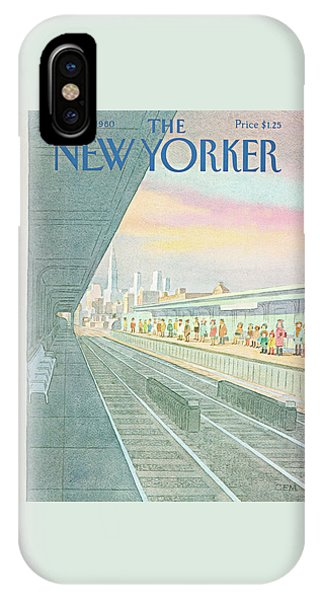 New Yorker November 24th, 1980 IPhone Case