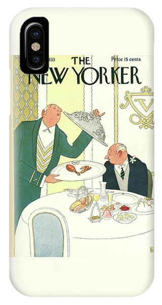 New Yorker November 25th, 1933 IPhone Case