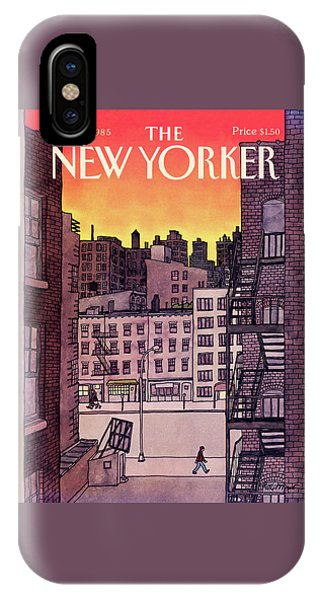 New Yorker November 25th, 1985 IPhone Case