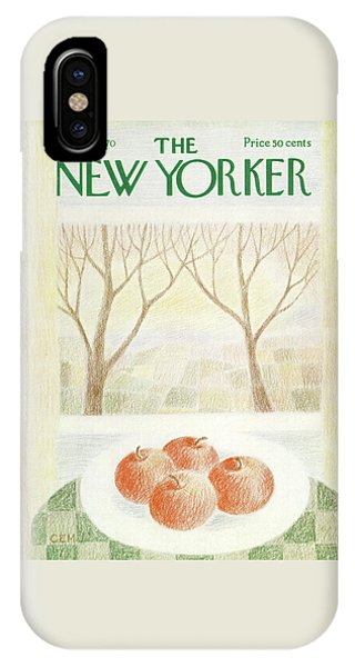 New Yorker November 28th, 1970 IPhone Case