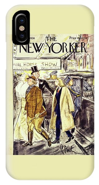 Representation iPhone Case - New Yorker November 5 1938 by Perry Barlow