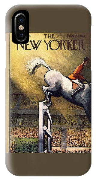 New Yorker November 9th, 1957 IPhone Case