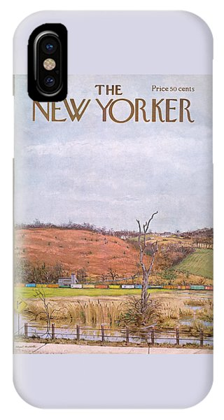 New Yorker November 9th, 1968 IPhone Case