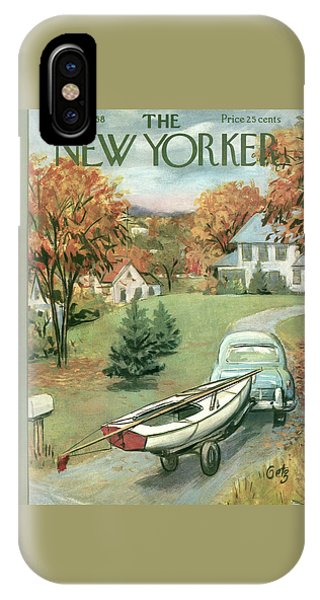 New Yorker October 11th, 1958 IPhone Case