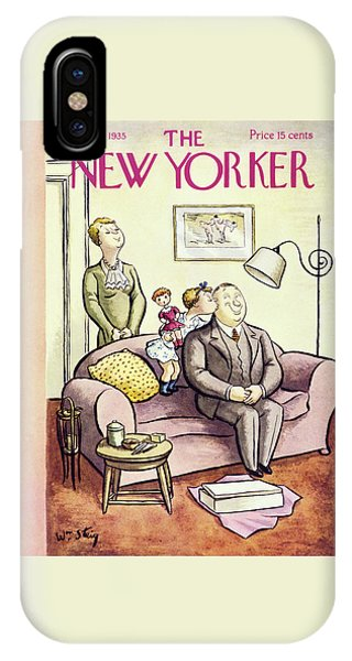 Representation iPhone Case - New Yorker October 12 1935 by William Steig