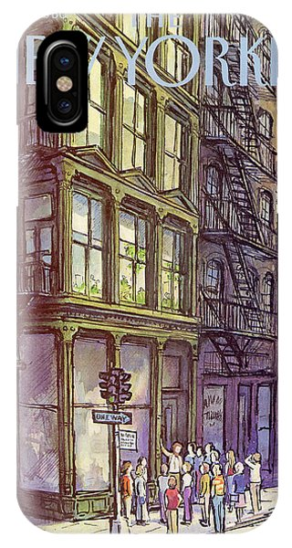 New Yorker October 13th, 1980 IPhone X Case