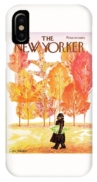 New Yorker October 14th, 1972 IPhone Case