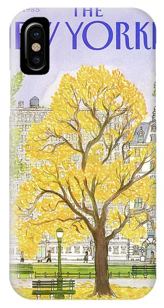 New Yorker October 14th, 1985 IPhone Case