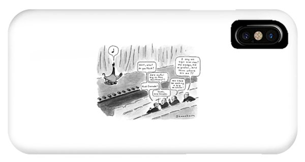 New Yorker October 15th, 1990 IPhone Case