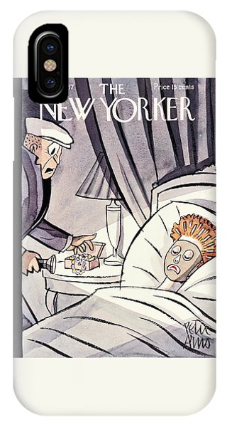 Representation iPhone Case - New Yorker October 16th 1937 by Peter Arno