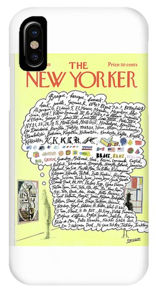 New Yorker October 18th, 1969 IPhone Case