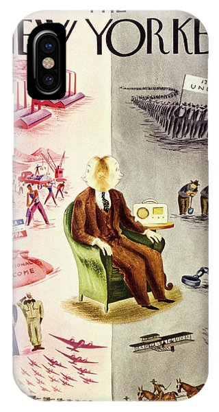 New Yorker October 19 1940 IPhone Case