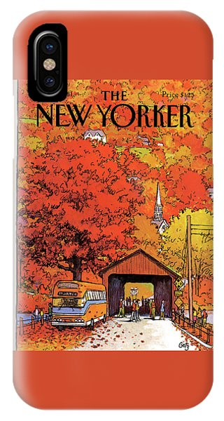 New Yorker October 19th, 1981 IPhone Case