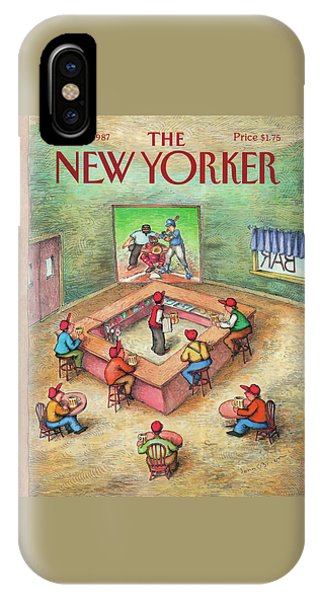 New Yorker October 19th, 1987 IPhone Case