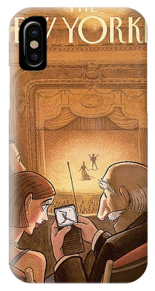 New Yorker October 19th, 1998 IPhone Case