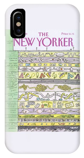 New Yorker October 1st, 1990 IPhone Case