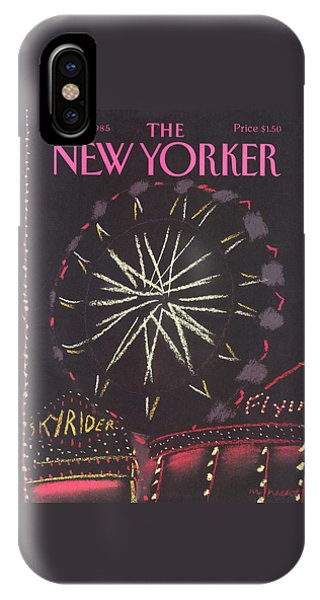 New Yorker October 21st, 1985 IPhone Case