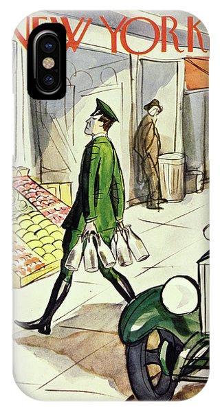 New Yorker October 22 1932 IPhone Case