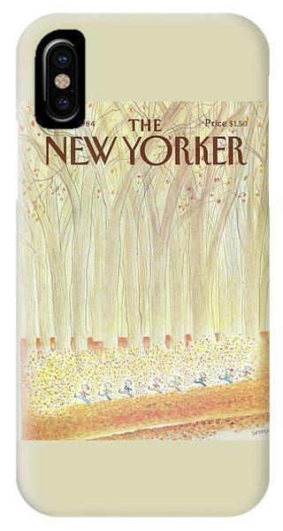 New Yorker October 22nd, 1984 IPhone Case
