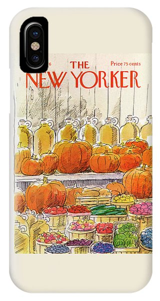 New Yorker October 25th, 1976 IPhone X Case