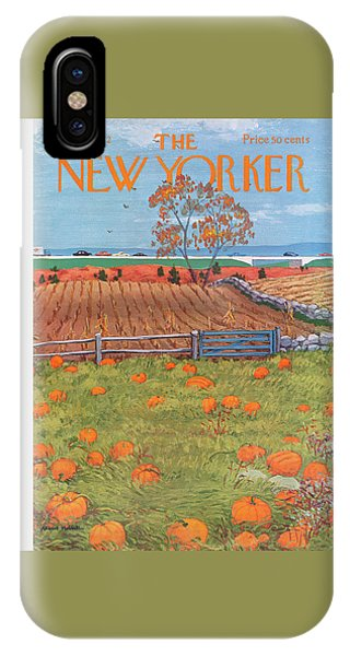 New Yorker October 28th, 1972 IPhone Case