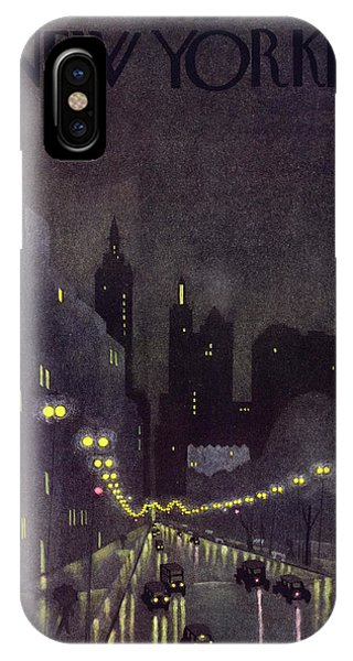 New Yorker October 29 1932 IPhone Case