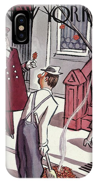 New Yorker October 29th, 1938 IPhone Case