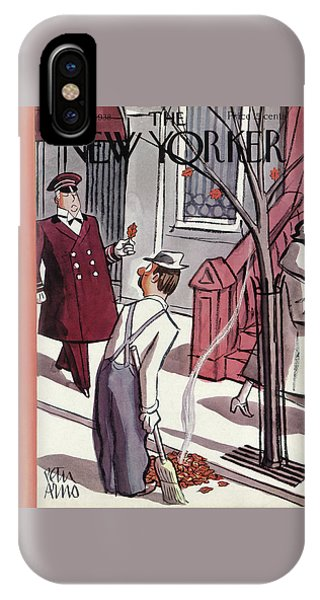 Representation iPhone Case - New Yorker October 29th, 1938 by Peter Arno
