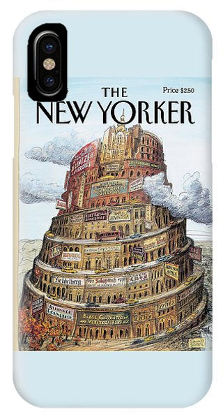 New Yorker October 2nd, 1995 IPhone Case