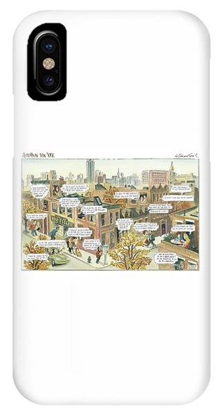 New Yorker October 2nd, 2000 IPhone Case