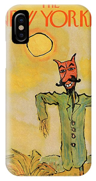 New Yorker October 31st, 1970 IPhone Case