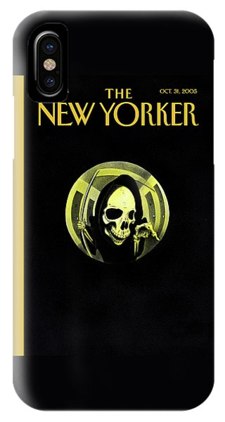New Yorker October 31st, 2005 IPhone Case