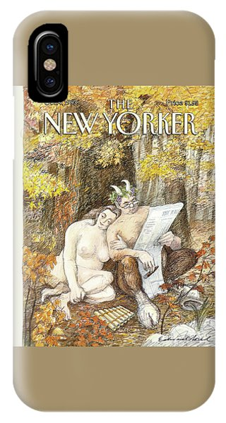New Yorker October 4th, 1993 IPhone Case