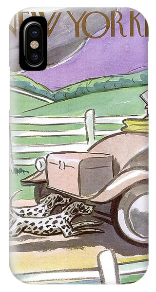 New Yorker October 7th, 1933 IPhone Case
