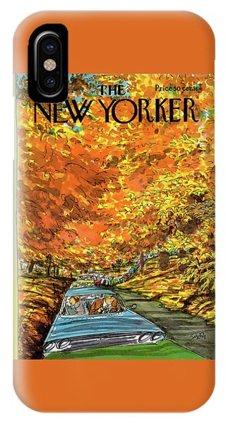 New Yorker October 7th, 1974 IPhone Case