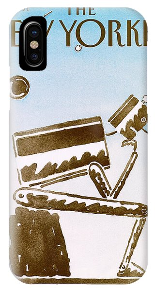 New Yorker October 7th, 1991 IPhone Case