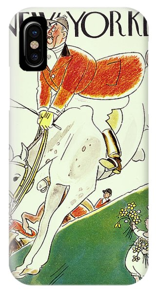 New Yorker October 8 1932 IPhone Case